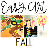 Fall Easy Art: Adapted Art and Writing Activities