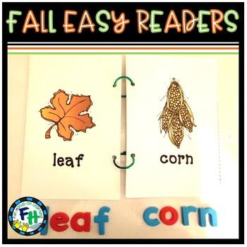 Fall Easy Reader Books