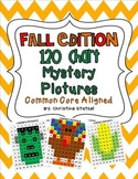 Fall Edition: 120 Chart Mystery Pictures {Common Core Aligned}