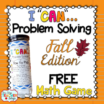 Fall Problem Solving Math Game