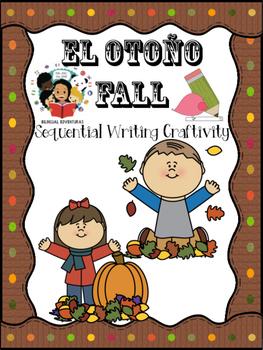 Fall/El Otoño- Sequential Writing Craftivity - Spanish