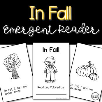 Fall Emergent Reader