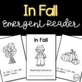 Fall Emergent Reader