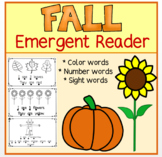 Fall Emergent Reader  Back to School