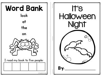 Fall Emergent Readers for Kindergarten BUNDLE