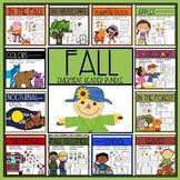 Fall Emergent Reader Bundle