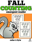 Fall Emergent Reader: Counting Squirrels with One to One C