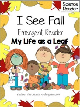 Fall Emergent Reader: {My Life as a Leaf}