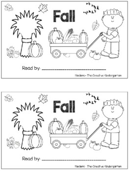 I See Fall {Emergent Reader Pack}