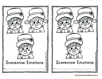 Fall Emergent Reader: Scarecrow Emotions