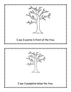 Fall Emergent Reader Sticker Story