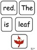 Fall Emergent Reader with Pocket Chart Cards and Poem - Ki