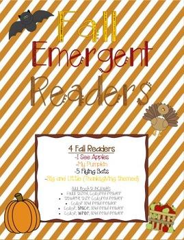 Fall Emergent Readers