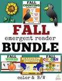 Fall Emergent Readers Bundle