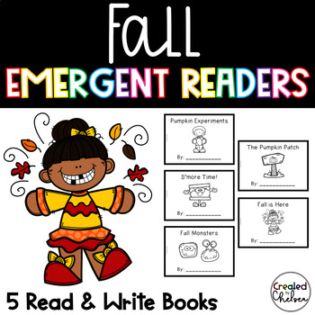 Fall Emergent Readers {Set of 5 Read and Write Books}
