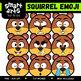 Fall Emoji COLOSSAL Bundle Clip Arts
