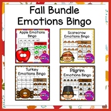 Fall Emotions Bingo Bundle