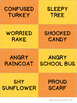 Fall Emotions, Grades 2-3
