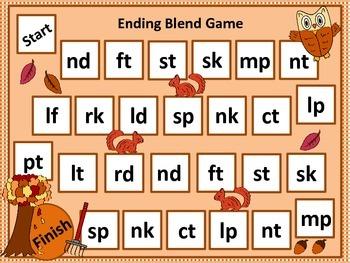 Fall Ending Blend Game