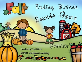 Fall Ending Blends Sounds Game Freebie