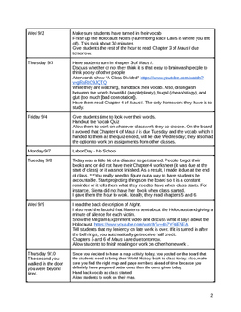 English Lesson Plans (Full Year)