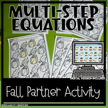Fall Equation Partner Activity