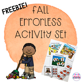 Fall Errorless Activity Set