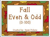 Fall Even & Odd Sort (0-100)