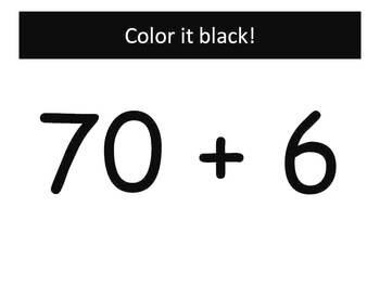 Fall Expanded Notation - Watch, Think, Color Mystery Pictures