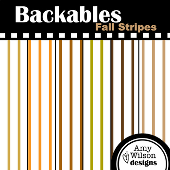 Fall Extra Small Stripes Backables