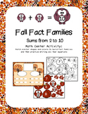 Fall Fact Families / Fall Number Bonds