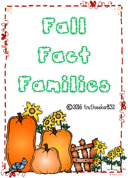 Fall Fact Families