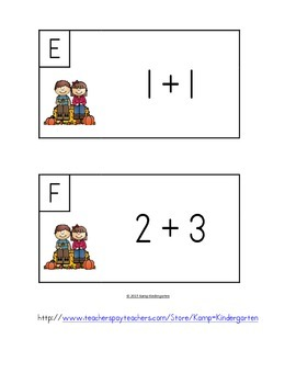Fall Fact Fun Fluency Within 5 Add the Room