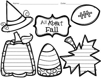 Fall Fact Graphic Organizer