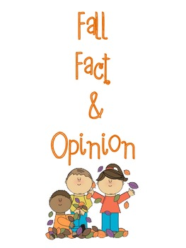 Fall Fact and Opinion