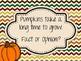 Fall Fact and Opinion Mini Lesson