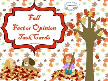 Fall : Fact or Opinion