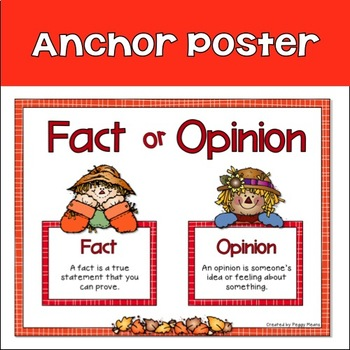 Fact or Opinion: Fall