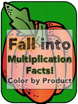 Fall Facts - Color by Product (number)