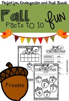Fall Facts to 10 FREEBIE Math {year2tastic}
