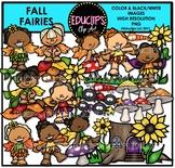 Fall Fairies Clip Art Bundle {Educlips Clipart}