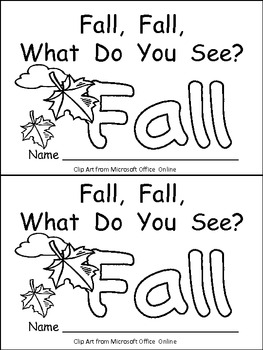 Fall book activities for kindergarten