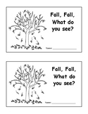 Fall Fall What Do You See color booklet