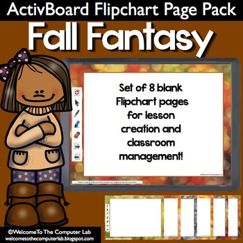 Fall Fantasy ActivBoard Flipchart Page Pack