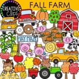 Fall Farm Clipart {Fall Clipart}