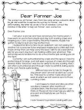 Fall Farm ELA Packet