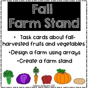 Fall Harvest ELA and Math Activities