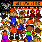 Fall Clipart Favorites {Creative Clips Clipart}