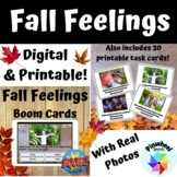 Fall Feelings Boom Cards™ Emotions Social Problem Solving