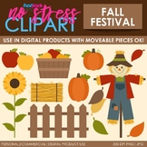 Fall Festival Clip Art (Digital Use Ok!)